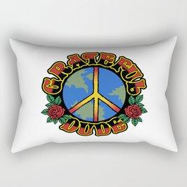 Grateful Dude Rectangular Pillow