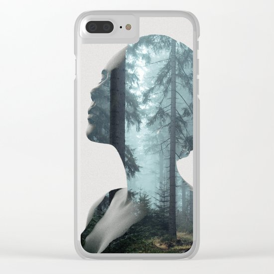Silence of the Nature Clear iPhone Case