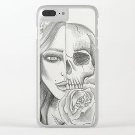 Inner and Outer Beauty Clear iPhone Case