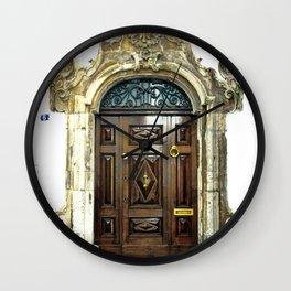 Italian door Wall Clock