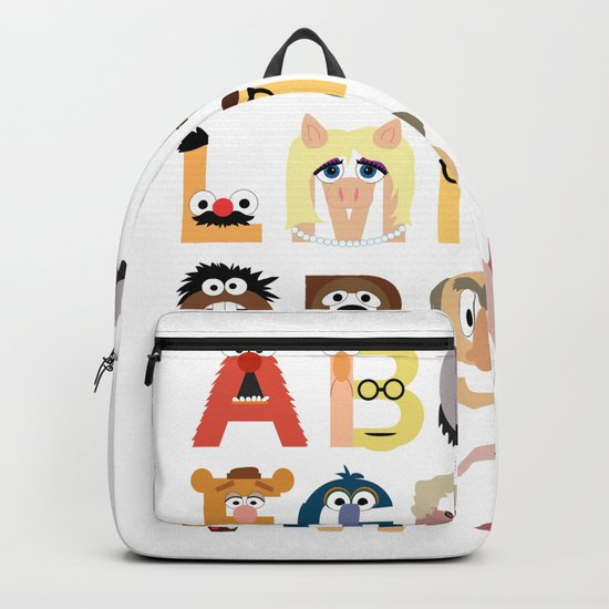 Muppet Alphabet Backpack