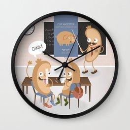 History class Wall Clock