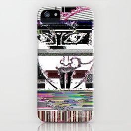 kali ma glitch iPhone Case