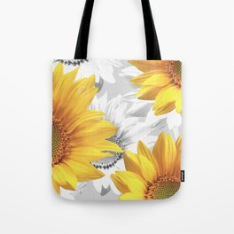 Sunflower Bouquet #decor #society6 #buyart Tote Bag