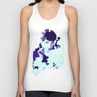 blade runner Tank Tops featuring RACHAEL // BLADE RUNNER by mergedvisible