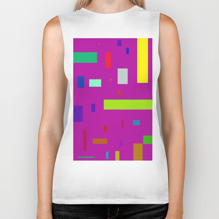 Squares and Rectangles 2 Biker Tank