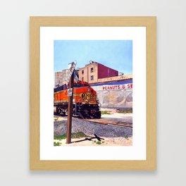 Portales Train Framed Art Print