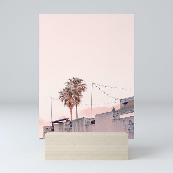 Pink Palms at Sunrise by mollyalex