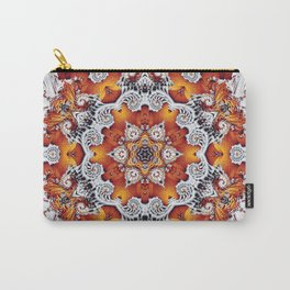 Incandescent Snowflake Carry-All Pouch