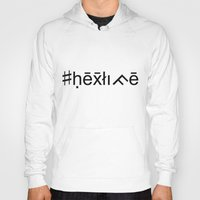 occult Hoodies featuring #hexlife - Occult Font by #hexlife