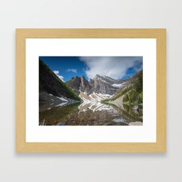 Lake Agnes - Fine Art Landscape Photograph Framed Art Print