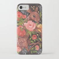 oana befort iPhone & iPod Cases featuring FAWN & FLORA by Oana Befort