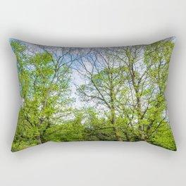 The six trees Rectangular Pillow