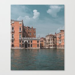 Grand Canal of Venice // Traveling & Lifestyle Collection Art Print Canvas Print
