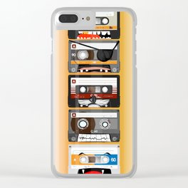 The cassette tape Clear iPhone Case