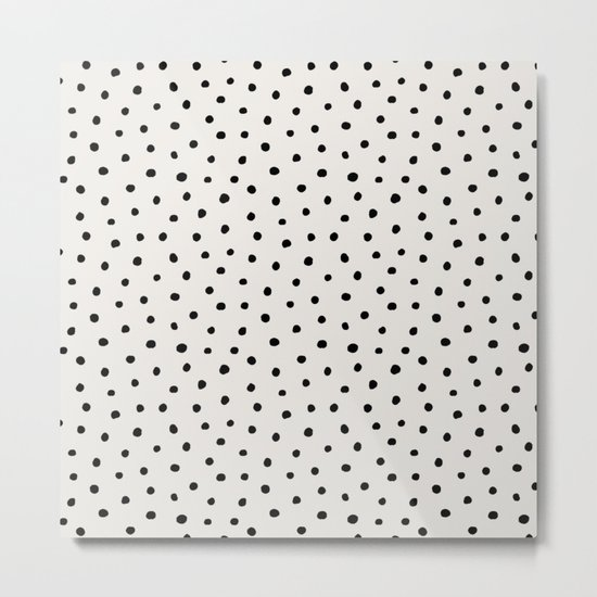 Perfect Polka Dots Metal Print