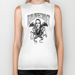 H.P. LOVECRAFT Biker Tank