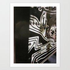 artificial intelligence 2 Art Print