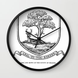 The History of Selkirkshire - Chronicles of Ettrick Forest Wall Clock