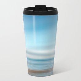 Tide Pool, Abstract Ocean Travel Mug
