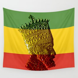 Selassie I Wall Tapestry