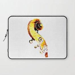 Jazz Contrabass Neck Laptop Sleeve