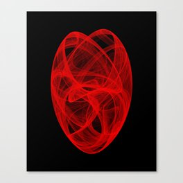 Bends Unraveling II Canvas Print
