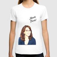 valar morghulis T-shirts featuring Shark Farts by beatrice