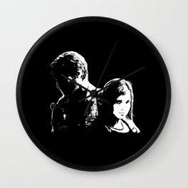 Joel and Elllie Wall Clock