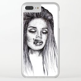 LANA Clear iPhone Case
