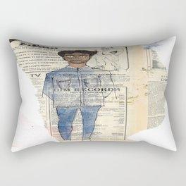 about a boy Rectangular Pillow