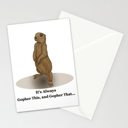 Gopher This Stationery Cards