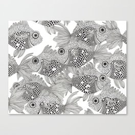 Fish School I Canvas Print