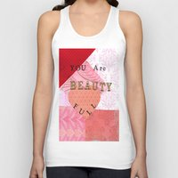 valentines Tank Tops featuring Valentines by Patty Haberman