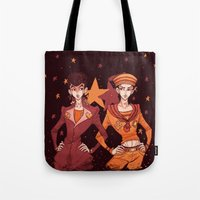 jjba Tote Bags featuring josukes by vvisti