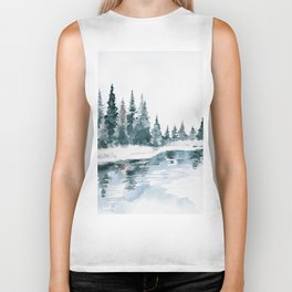 Mountain River Biker Tank