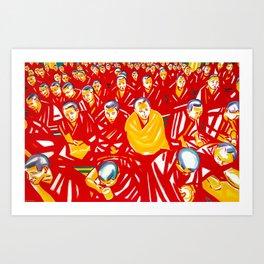 """GUARDIANS OF KINDNESS""   Art Print"