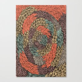 Ink Pattern no.2 Canvas Print