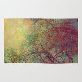 Tree Silhouette, Autumn Sunset Rug