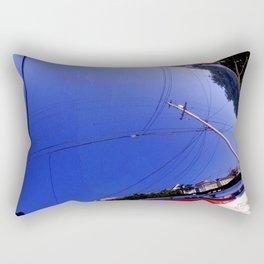 The Fish-Eye Sky, Grounded  Rectangular Pillow