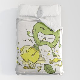 When Life Gives You Lemons by dana alfonso Comforters