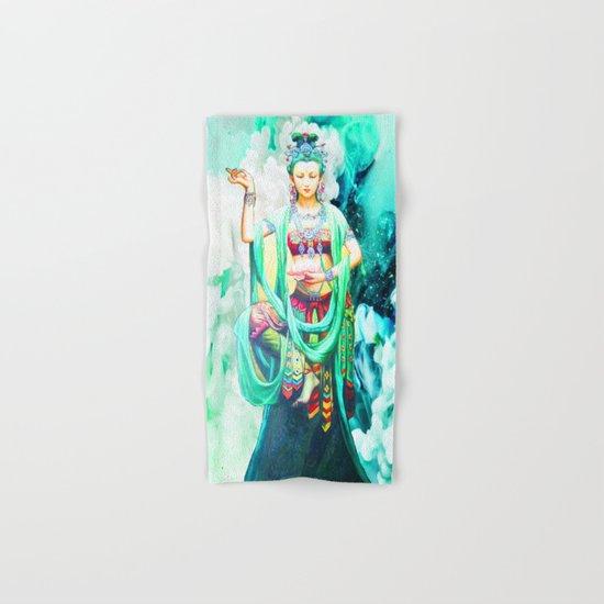 The Goddess of Mercy Hand & Bath Towel