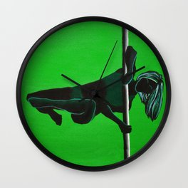 The Matrix | Pole Dancer Series Wall Clock