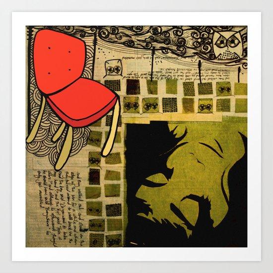 """everywhere"" Art Print"