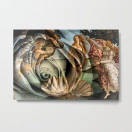 Venus Rose Metal Print