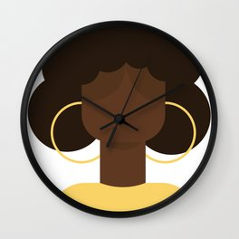 Woman 1 Wall Clock