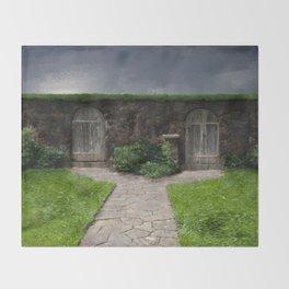 Choices (Secret Garden) Throw Blanket