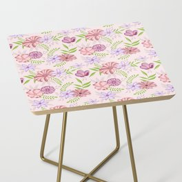 Flowers dancing around Side Table