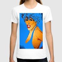 tina fey T-shirts featuring Tina by Saundra Myles