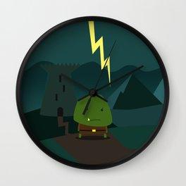 Glooming Ork Wall Clock